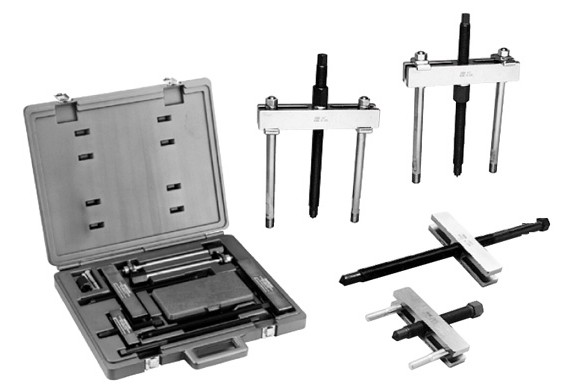 Bhp Series Hydraulic Master Puller Sets : Hydrotools t hydraulic master puller set