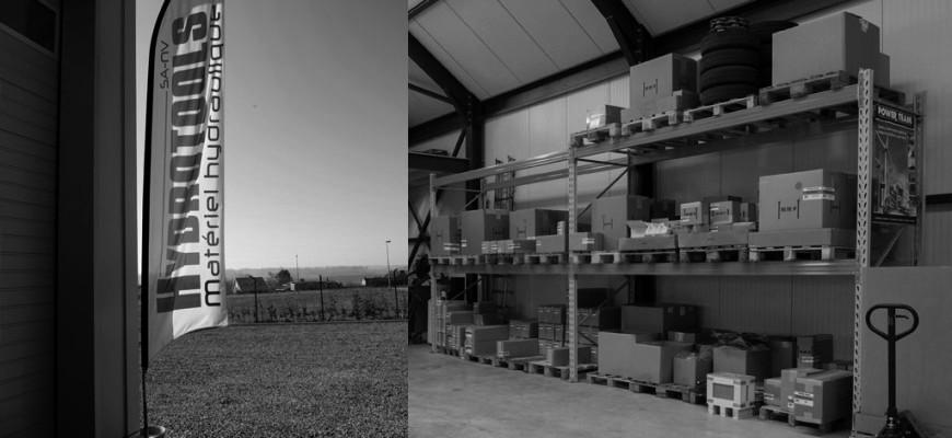 Nouveaux bureaux et ateliers à Olne