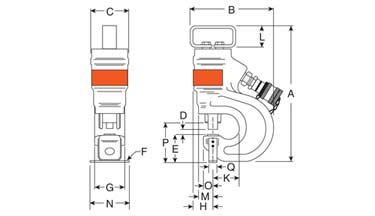 Hydraulic Punch HP Series - Diagram