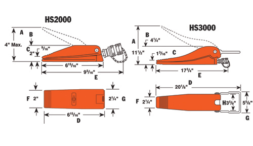 Bolting Tools: HS2000 – HS3000 – Diagrams