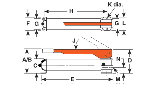 P Series - Hand Pump - Diagram